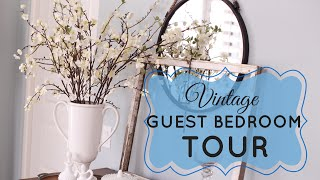 My Vintage Guest Bedroom Tour