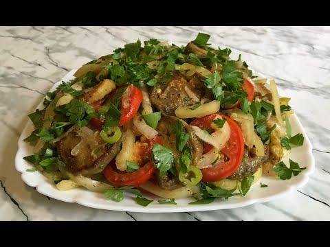 Баклажаны По-Армянски Это Вкуснейшая Закуска Для всей Семьи! / Синенькие / Armenian Style Eggplants