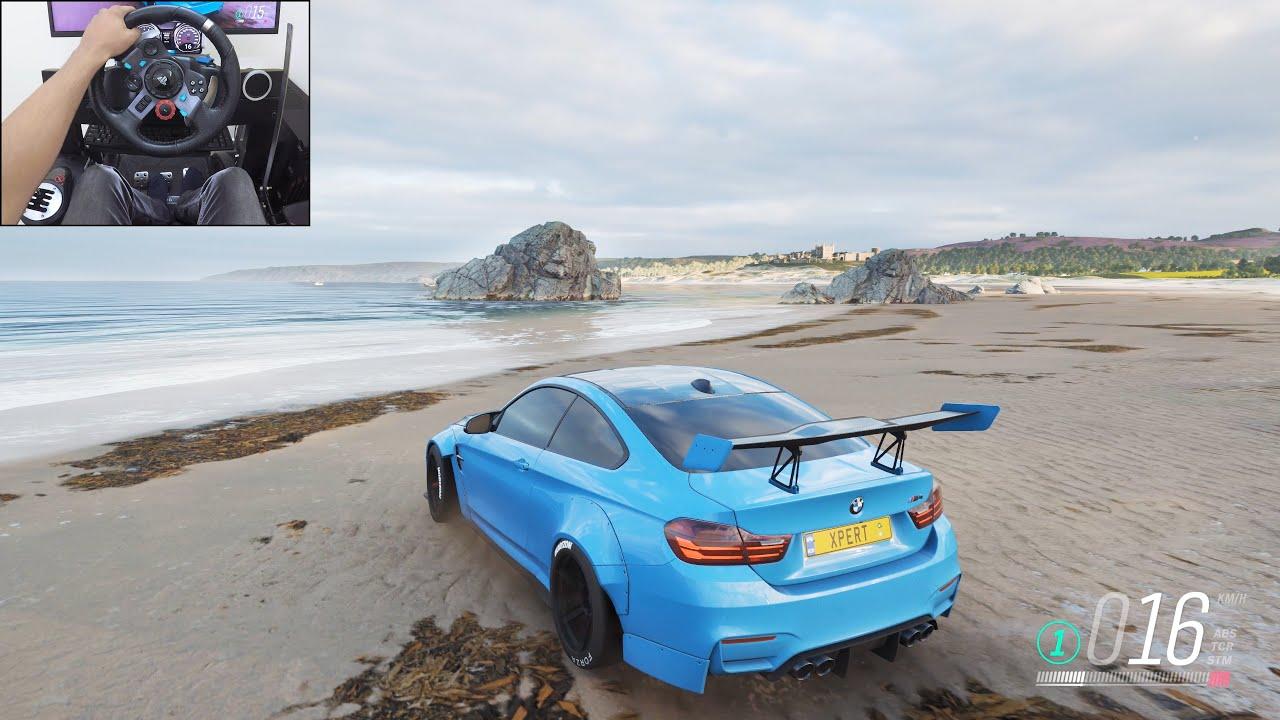 700BHP BMW M4 Liberty Walk build - Forza Horizon 4 | Logitech g29 gameplay
