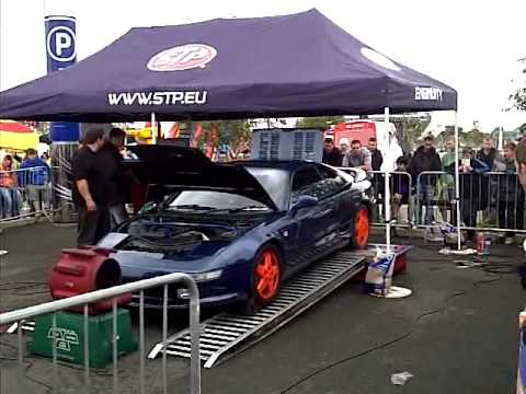 lukes mr2 on dyno