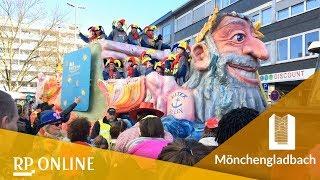 Karneval 2018: So schön war der Veilchendienstagszug in Mönchengladbach