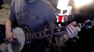 How to play Big Country by Bela Fleck on banjo
