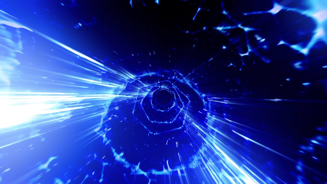 Animated Backgrounds Wormhole Tunnel Flythrough - Footage PixelBoom - YouTube