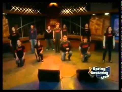 Spring Awakening Cast sings the Song of purple summer