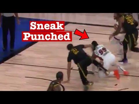 Anthony Davis Punches Jae Crowder!