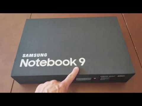 Samsung Notebook 9 15 Inch (2017 Edition) - Unboxing and Ini