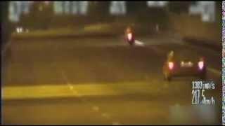 Warszawa: Widowiskowy pościg za motocyklistą