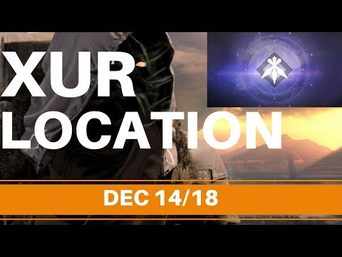 Destiny 2 - XUR LOCATION DEC 14/18 + WHAT HAPPENS WHEN YOU GIVE HIM HIS GIFT! thumbnail