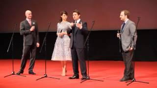 Том Круз в Москве на премьере фильма Обливион к/т Октябрь 01.04.2013