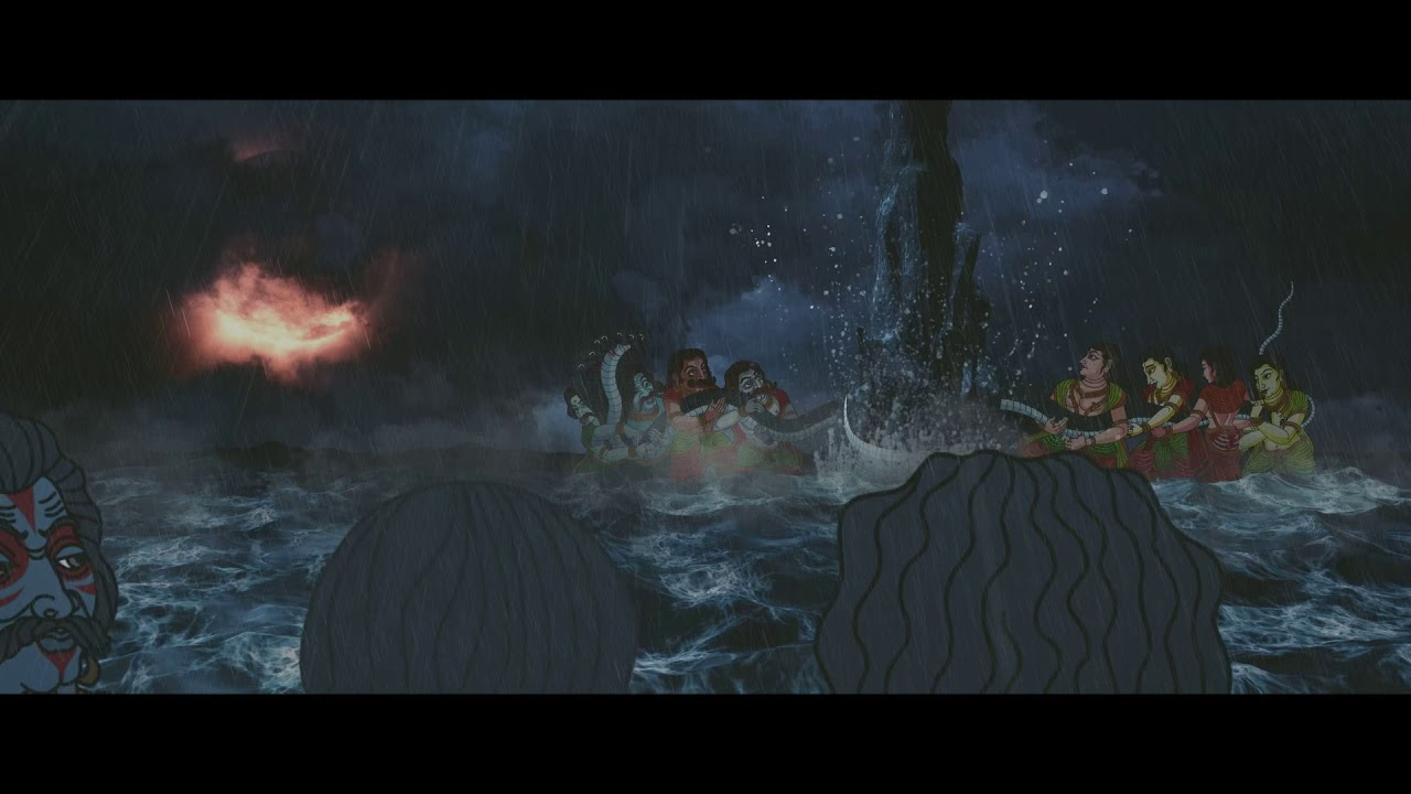 """Download Animation. """"The churning of the universal ocean"""""""
