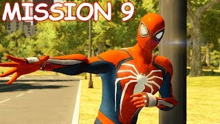 Playing as PS4 Spider-man - Mission 9 Betrayed - The Amazing Spider-man 2 (PC)