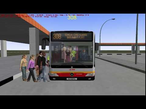 OMSI 2 | Mercedes Benz O530 Citaro | Choa Chu Kang Town Route 308