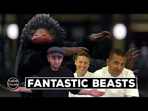 Cake Boss Ralph Sculpts a Fantastic Beast | Sculpting with Cake Boss Ralph