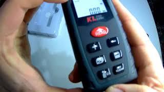 KLPro markasının kllzm40 model lazer metresini inceledik