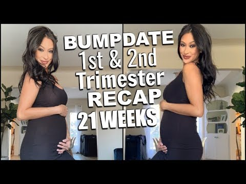 1st & 2nd Trimester Recap HUGE Difference  Cravings Symptoms 20s VS the 30s 😳