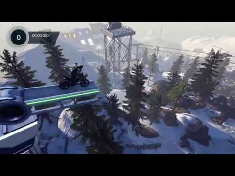 Trials Fusion Ski or Ride 'Exhibitionist' Challenge - 5 flips, hold superman and proud hero pose
