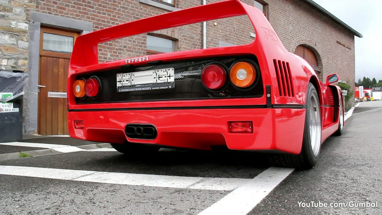 Ferrari F40 - AMAZING SOUND! - YouTube