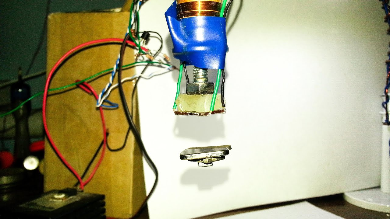 How to make a magnetic levitation at home