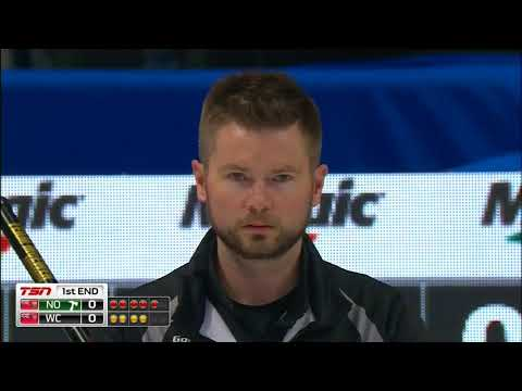 McEwen (WC) vs. Jacobs (NO) - 2018 Tim Hortons Brier - Draw 17