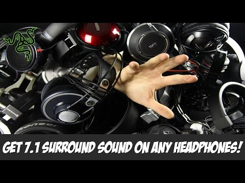 How to Get Free 7.1 Surround Sound On Any Stereo Headphones