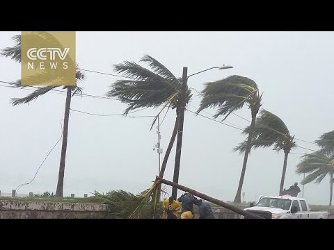 People trapped in their homes in the Bahamas