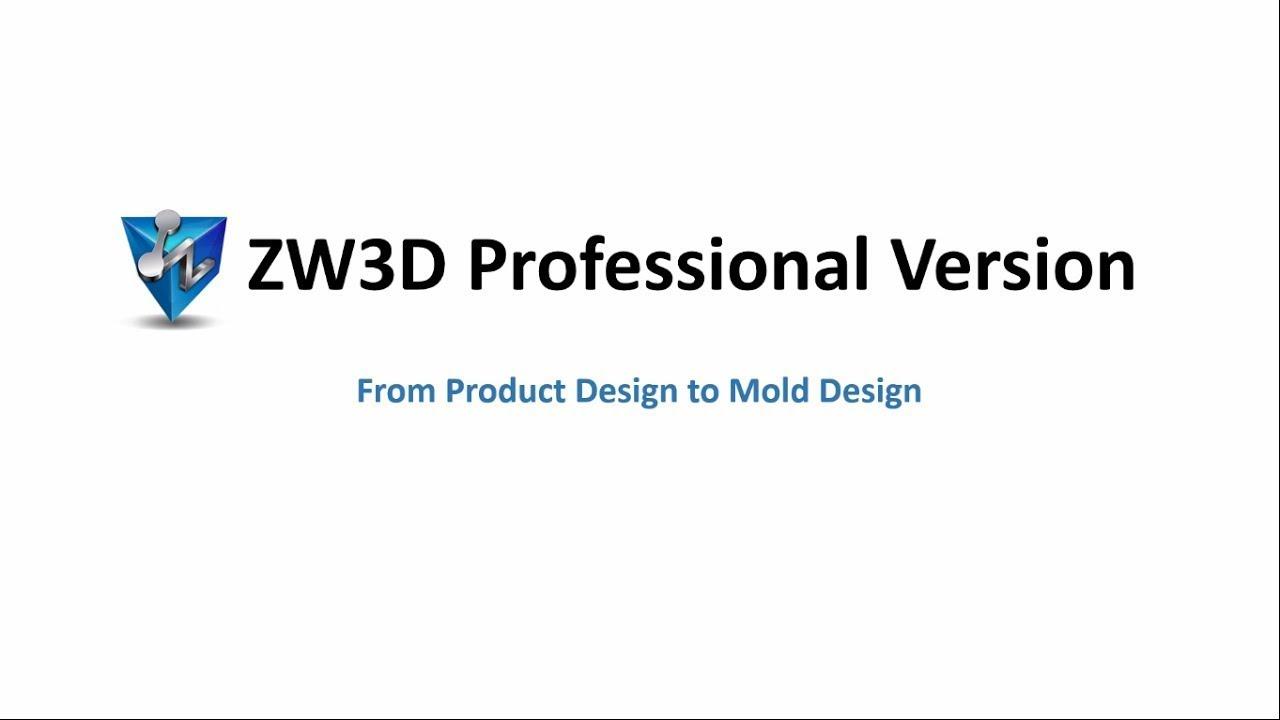 ZW3D Professional Verison   ZWSOFT