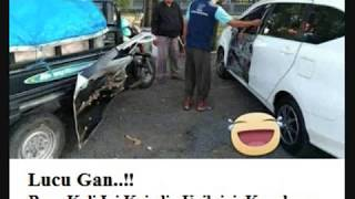vuclip Lagi Virall...!! Toyota Calya Bersengolan Sedikit dengan Motor Cina Pintu Depan Copot