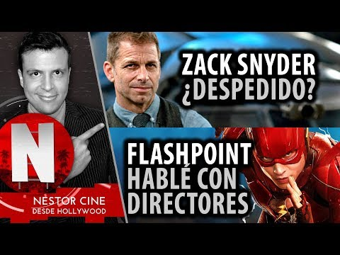 ¿Zack Snyder Despedido? Exclusiva FLASHPOINT. Noticias LOBO, JOKER, INCREDIBLES 2 - Programa Live #2