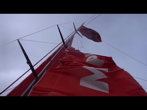 Volvo Leg 7 Report 5 March 31 18 Carnage and Damage at Cape Horn MAPFRE Mast/Sail, Vestas Dismasted