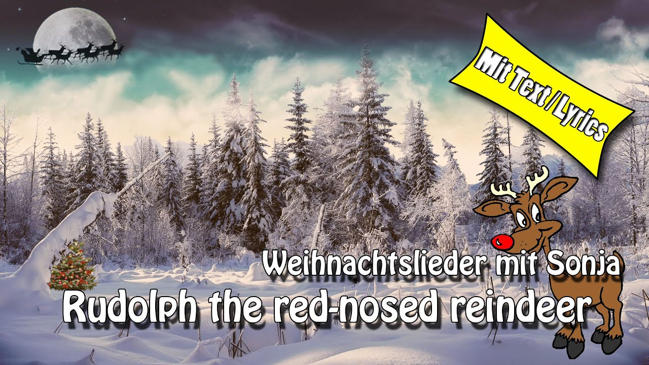 Weihnachtslieder / Christmas Song - Rudolph, the red-nosed reindeer ...