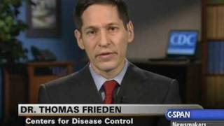 C-SPAN's Newsmakers with CDC Dir. Dr. Thomas Frieden