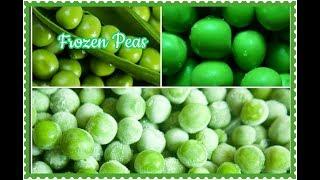 How to preserve  Fresh Green Peas | Homemade Frozen Peas | పచ్చి బఠాణి నిల్వ చేయుట