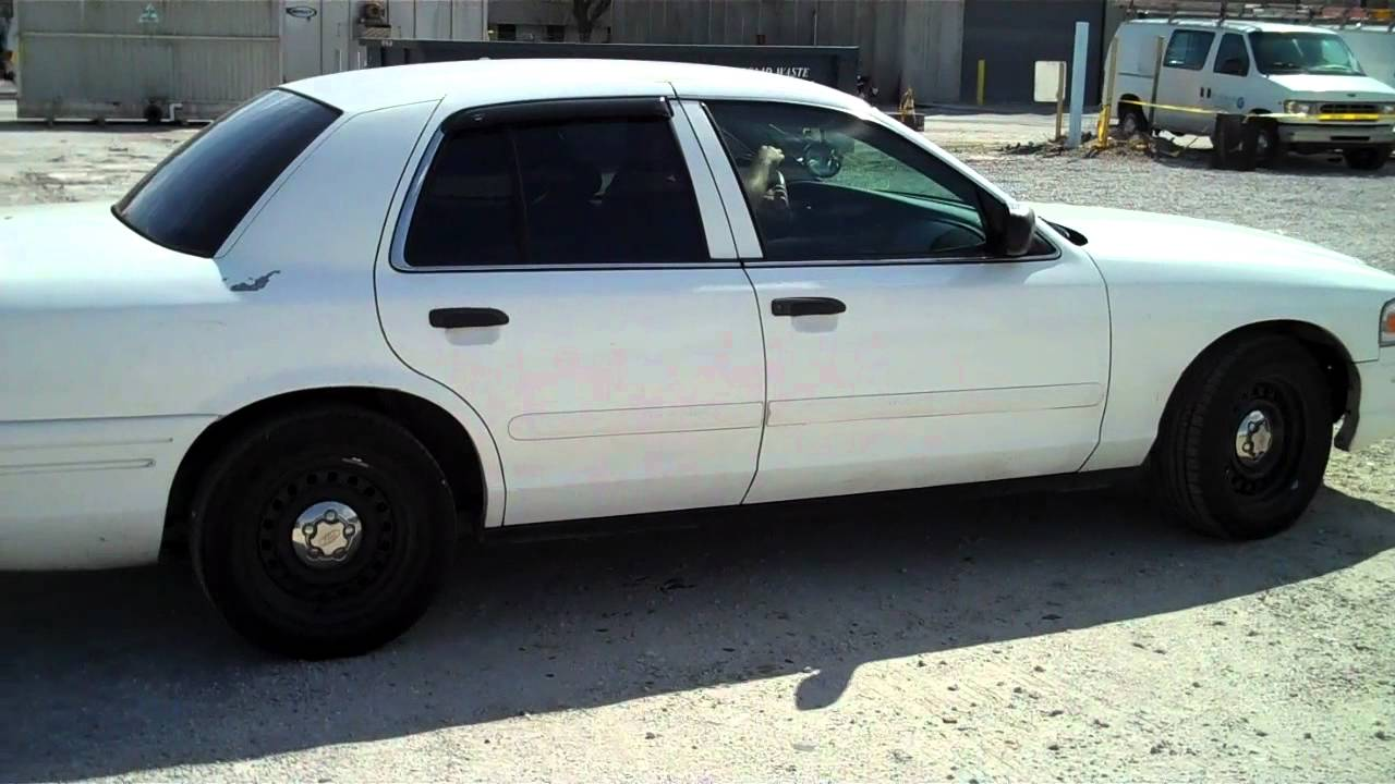 2001 ford crown victoria police interceptor 4 6l v8 sohc 16v