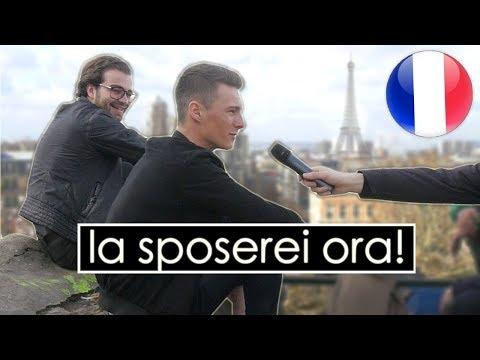 """SPOSERESTI mai UN'ITALIANA ?"" Chiesto ai FRANCESI - thepillow a Parigi #2"