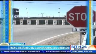 Estados Unidos libera al último preso británico que quedaba en Guantánamo