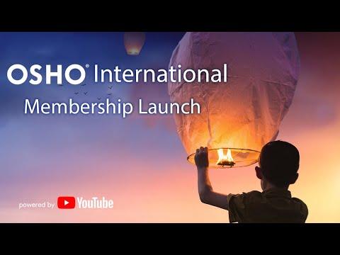 OSHO International - YouTube Membership Launch