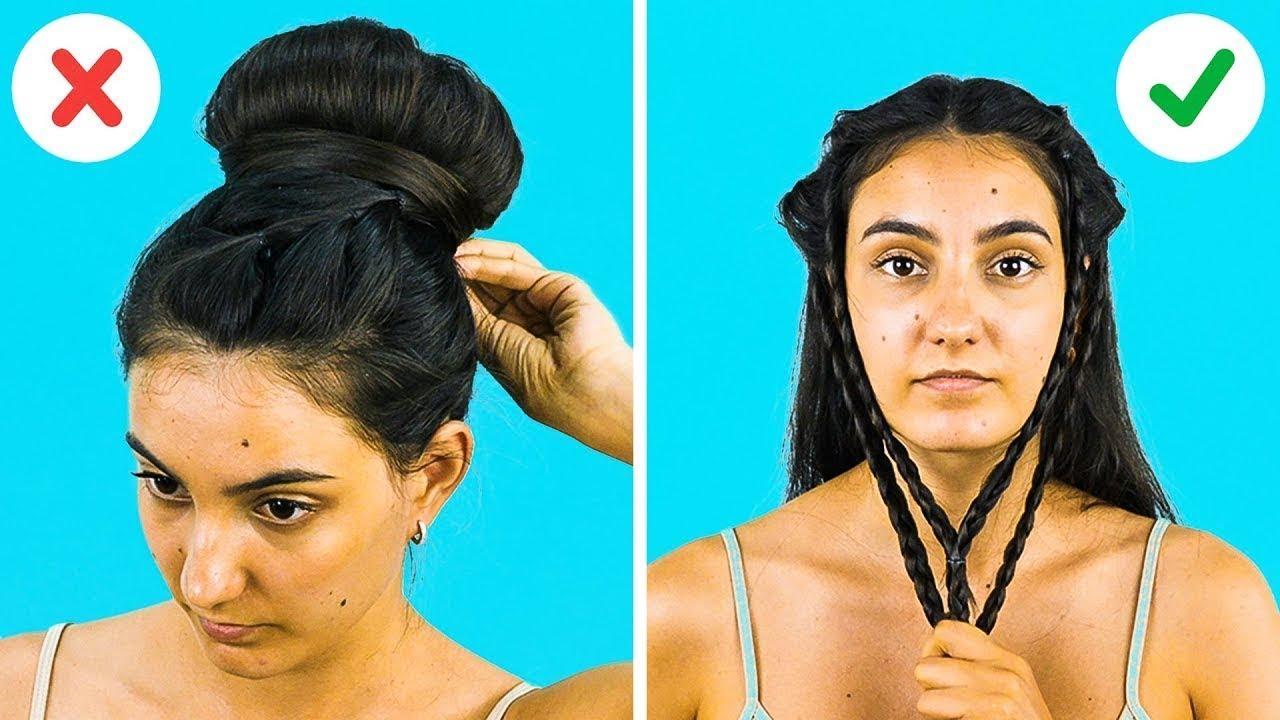 Сharming ideas en 5 minutos peinados Colección de tendencias de color de pelo - 32 FACILES PEINADOS PARA HACER EN MENOS DE UN MINUTO - YouTube