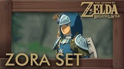 Zelda Breath of the Wild - Zora Armor Set Location