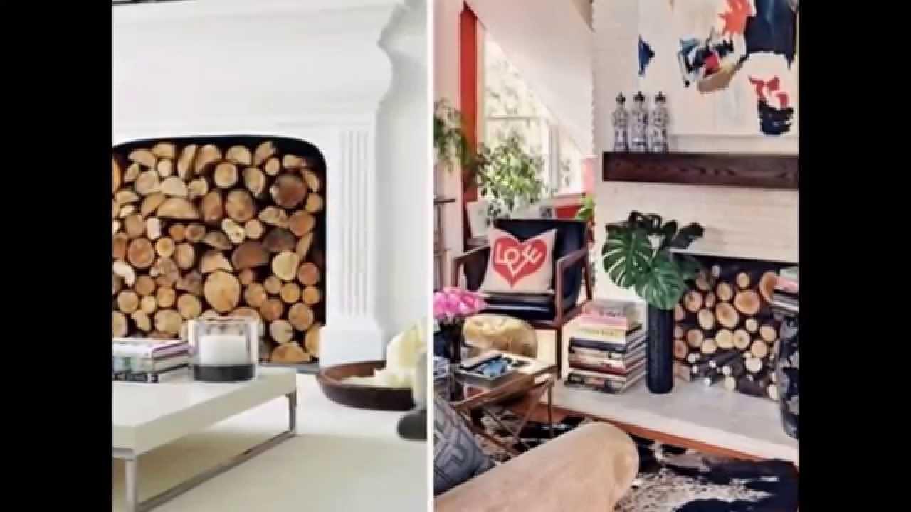 Den unbenutzten Kamin im Wohnzimmer dekorieren  20 kreative Dekoideen  YouTube