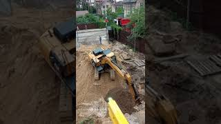 подготовка котлована для стройки 10 етажного дома