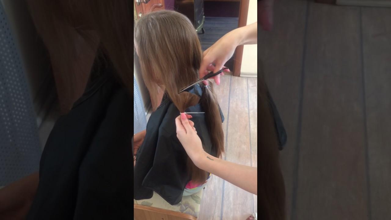 Прием волос