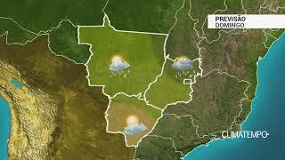Previsão Centro-Oeste – Ar seco em MS