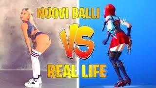 New FORTNITE &emote (emote) balls vs REAL LIFE 2018