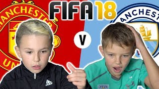 MAN UTD VS MAN CITY | FIFA 18 EDITION 🎮