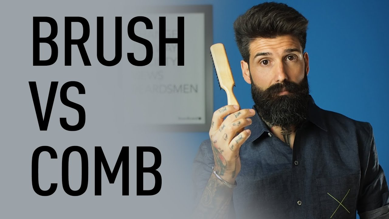 Beard Brush Vs Beard Comb Carlos Costa Youtube