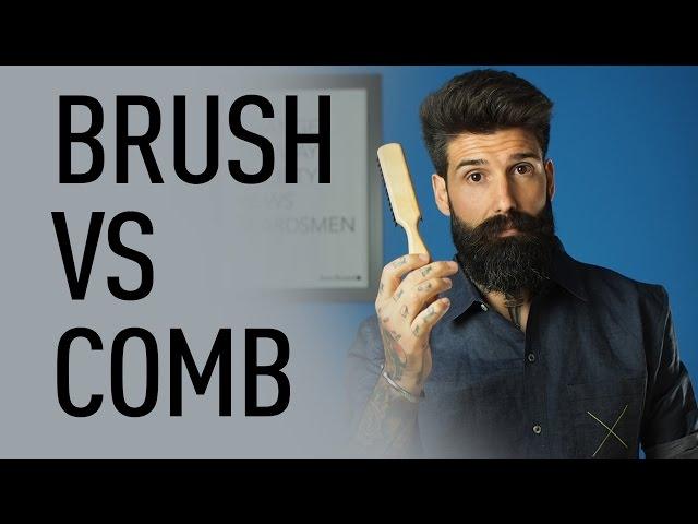 Beard Brush vs Beard Comb | Carlos Costa