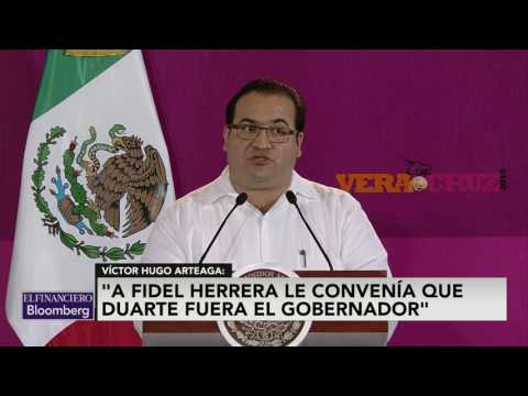 Karime Macías era el cerebro detrás de Javier Duarte: Víctor Hugo Arteaga
