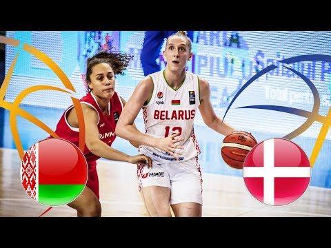 Belarus v Denmark - Full Game - FIBA U20 Women