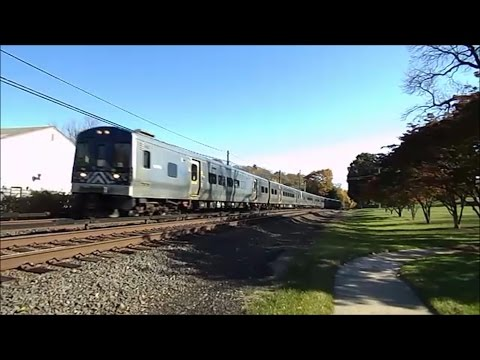 Metro-North Railroad HD: Friendly Engineer Operates Harlem Line Train 629 Past Kensico Cemetery