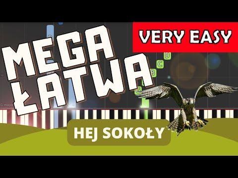 🎹 Hej Sokoły - Piano Tutorial (MEGA ŁATWA wersja) 🎹